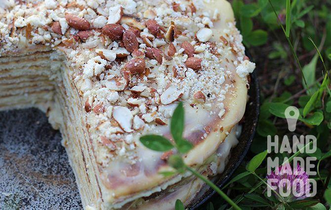 Торт на сковородке! http://handmadefood.ru/recipes/tort-na-skovorodke