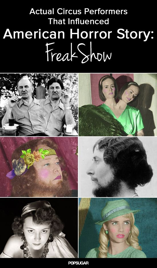 We've got vintage photos of actual circus performers that look just like American Horror Story: Freak Show characters!