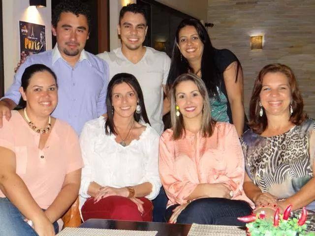 Lages, SC: Confraternização - Marinês Roque e Sindiaffi Sindicato Dos Fiscais de Lages 2014 no Restaurante Bistro