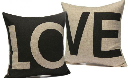 ¡Almohadas llenas de amor!