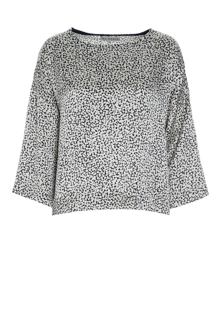 #ByGroth #FW14  #Nora boxy top in printed #silk.