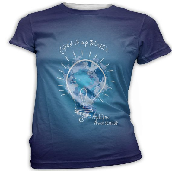 I am just a Mom with an Autistic Child, I do not work for, nor am I affiliated with Autism Speaks. The t-shirt I have designed was inspired by the