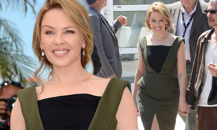 'I feel like a cat with nine lives': Kylie Minogue opens up about her cancer battle as she promotes her new movie in Cannes #DailyMail