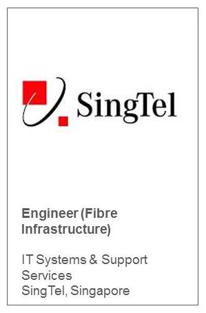 Engineer (Fibre Infrastructure) IT Systems & Support Services SingTel, Singapore