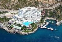 Kuşadası Otelleri Richmond Ephesus Resort Rezervasyon  Mevki: Efes Konsept: Herşey Dahil Havaalanı: 75 km Şehre Uzaklığı: 12 km Kuşadası Denize Uzaklığı: 50 m  - En Son Yenilenme: 2009 - 1 Adet Açık Havuz - 1 Adet Kapalı Havuz - Plaj:Mavi Bayraklı Özel Plaj - Güzellik Merkezi, SPA