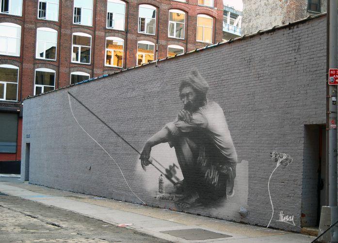 Street Art By Husky Brown - Birmingham (United Kingdom)