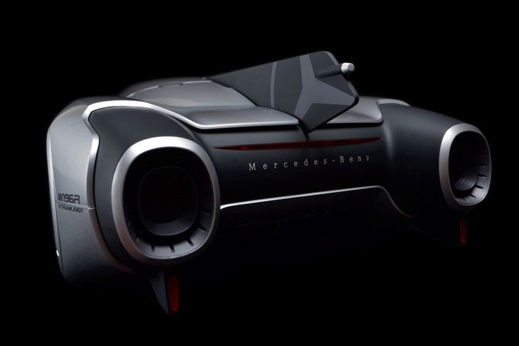 Looking like what I can only assume is a car-lover's wet dream, the Mercedes Benz 2040 Streamliner concept puts two absolutely gnarly looking turbines on the