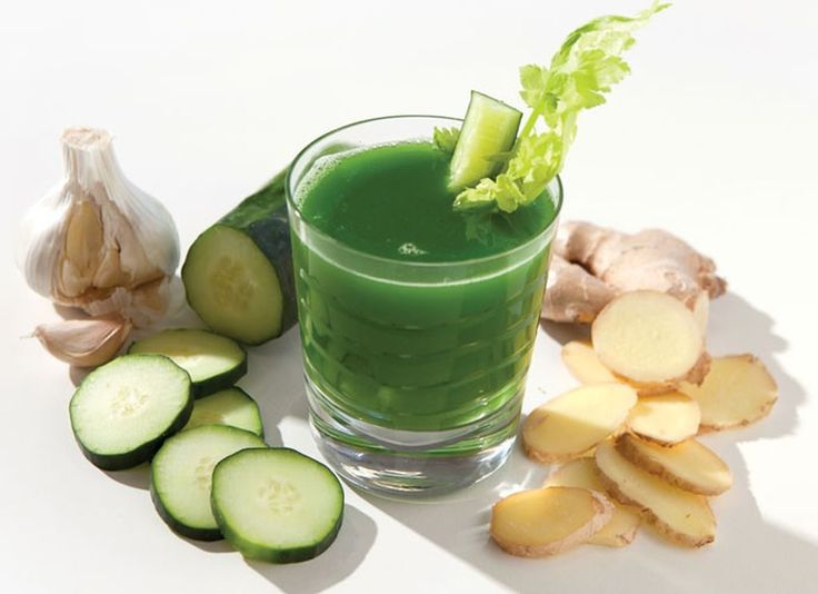 Power cleanse juice Hippocrates Health Institute's famous green juice.