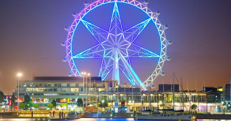 Experience a single 30-minute flight in a fully enclosed, air-conditioned cabin that will take you 120 meters above Melbourne. The Melbourne Star Observation wheel is the only giant observation wheel in the Southern Hemisphere.