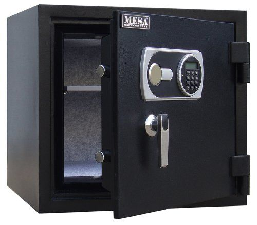 Mesa Safe Company MFS55E 1.5 Cubic Foot  UL Certified Fire Safe with Digital Lock   https://huntinggearsuperstore.com/product/mesa-safe-company-mfs55e-1-5-cubic-foot-ul-certified-fire-safe-with-digital-lock/