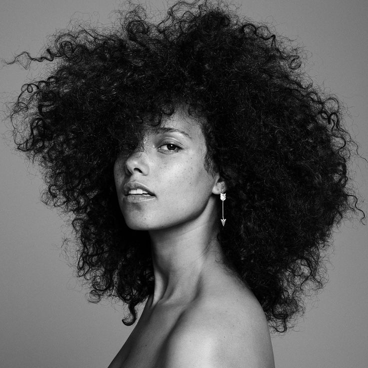Celebrities Without Makeup: Alicia Keys Talks Inner Beauty
