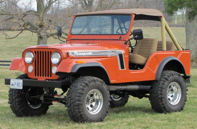 Lifted Jeep Renegade >> 1975 jeep cj5 - Bing Images | Transport | Jeep, Jeep truck, Vintage jeep