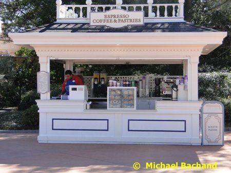 kiosk in the park