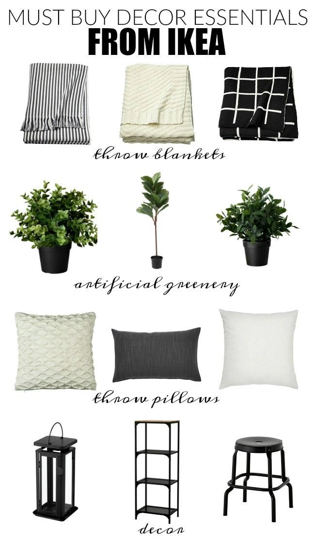 Stylish And Affordable Decor Essentials From IKEA