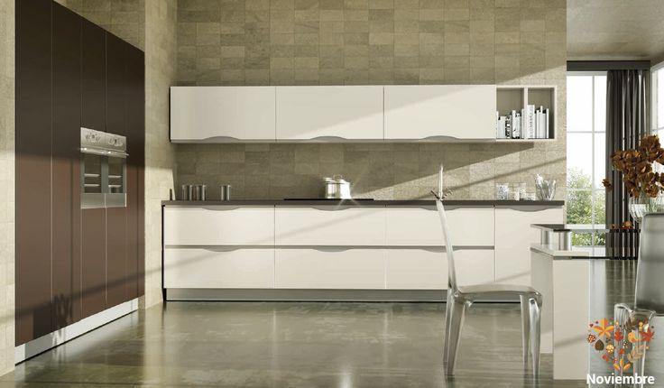 Cocinas sencillas con ese toque moderno que tanto te gusta para tu hogar🍇🍒🍊🍉🍐🍓 ¡Disfruta de tu fábrica de olores!🍇🍒🍊🍉🍐🍓 #Estilo #Fabricantes #CocinasDeEnsueño  [ Más información➔https://goo.gl/KmYYvY]