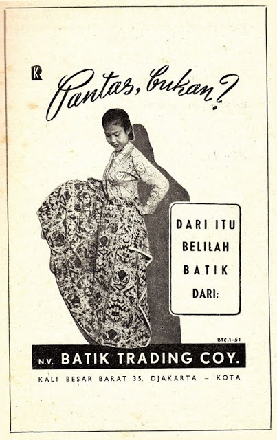 Indonesian Old Commercials:Batik