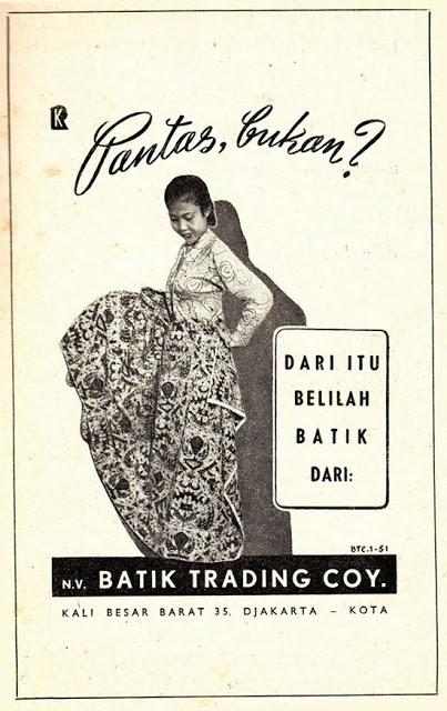 Indonesian Old Commercials:Batik