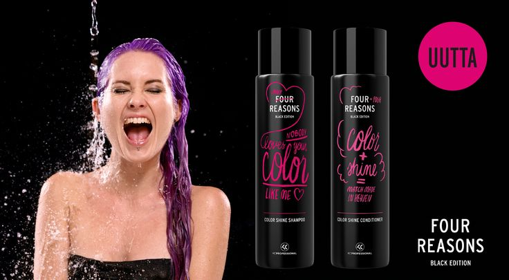 Four Reasons Black Edition Color Shine