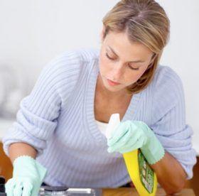 Как убрать проверенными средствами жирные пятна на кухне: самые эффективные методы