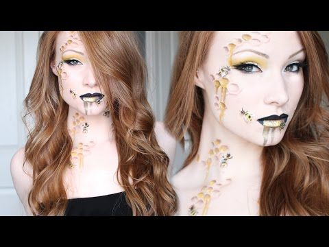 Love the way that she cuts together her videos to keep a very fast pace video. >> Queen Bee Makeup/Hair Tutorial - YouTube
