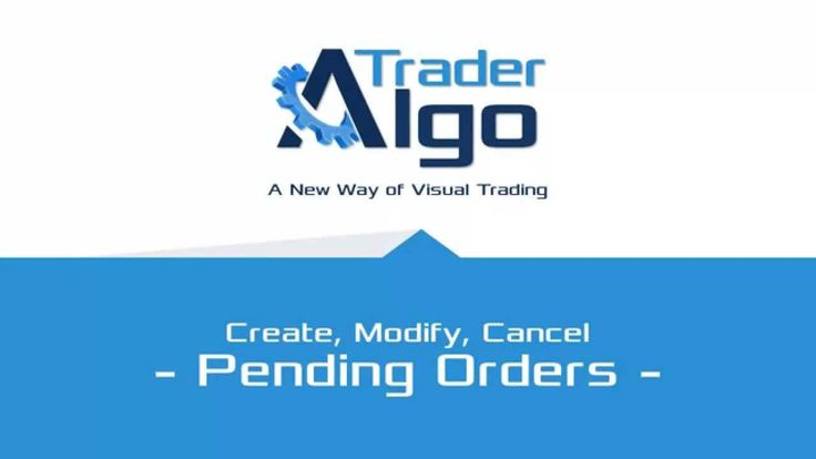 Working with Pending Orders