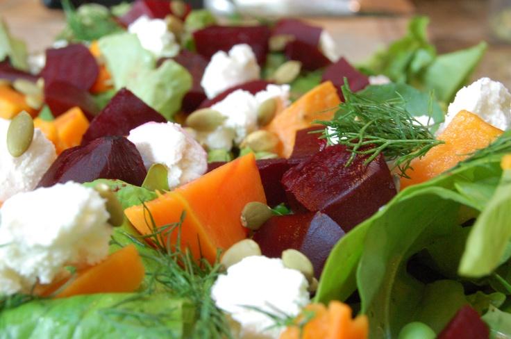 Beet & Chevre Salad