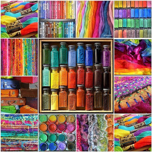 Allemaal kleurtjes voor het zomer gevoel !, via Flickr.
