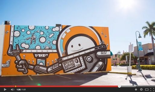 17 best images about boone block art wall on pinterest for Downtown hollywood mural project
