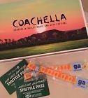 (2) 2017 Coachella Weekend 1 Tickets  (2) Shuttle Passes