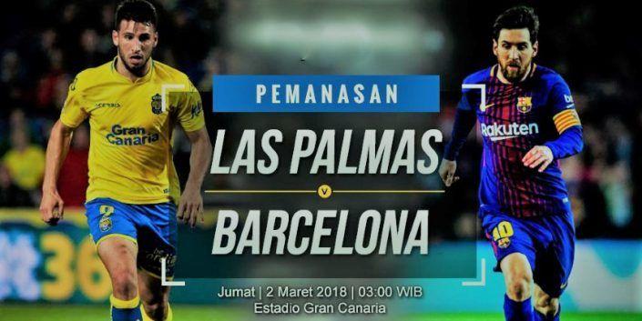 Prediksi Skor Jitu Las Palmas vs Barcelona Liga Spanyol