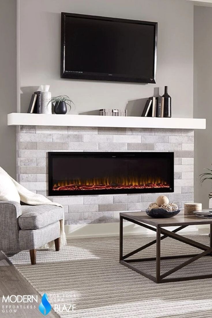 Interior Design Ideas For Fireplace In 2020 Built In Electric Fireplace Recessed Electric Fireplace Fireplace Feature Wall