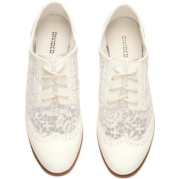 H&M Brogues found on Polyvore featuring shoes, oxfords, flats, wingtip shoes, wingtip brogues, h&m shoes, h&m flats and brogue shoes