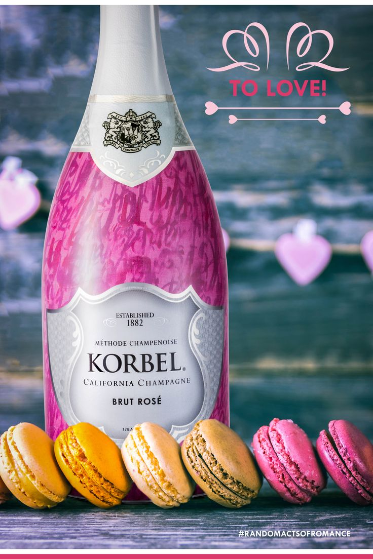 Love isn't meant to be celebrated just one day a year, and sometimes it's those little moments of romance that mean the most. So don't wait for Valentine's Day this year… surprise your sweetheart with an impromptu brunch and toast to your life together with KORBEL.