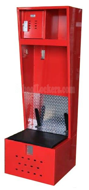 Stadium Locker Soccer Edition These Heavy Duty Open Front Lockers Include Lock Box Built In Black Armor Cleat Racks And Diamond
