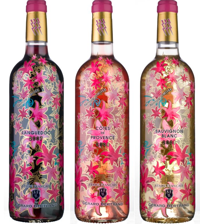 Stade français. Prettiest wine bottle I've ever seen