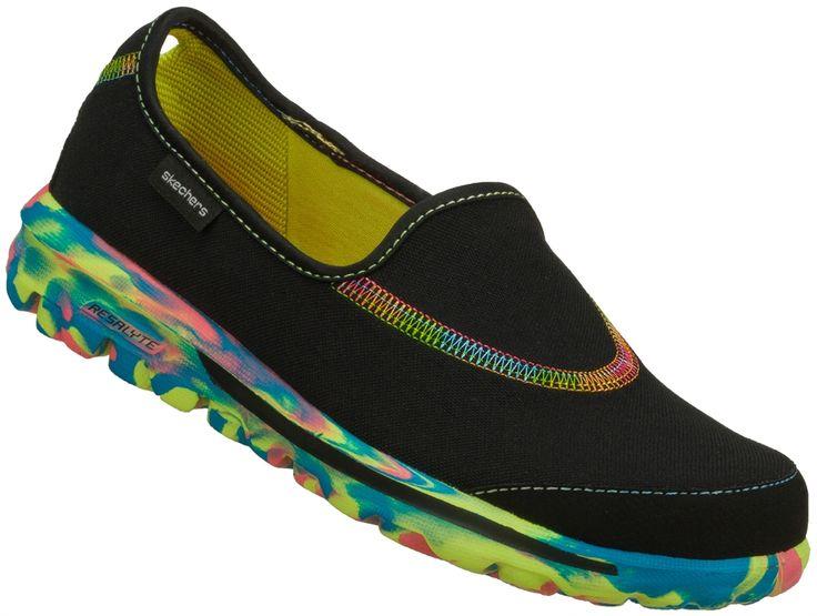 Nursing Shoes - Skechers Wavelength Black Shoe   Skechers Footwear   Brands   www.LydiasUniforms.com