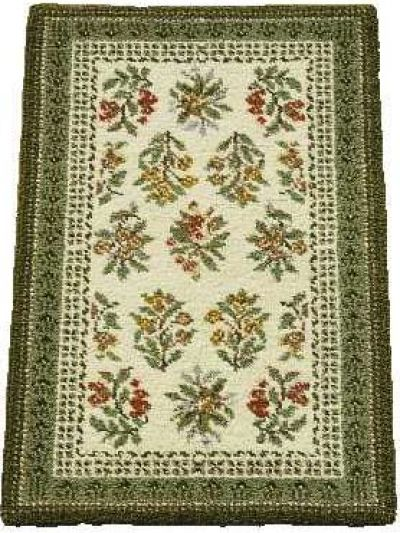 Pure wool latch hook rug kits with painted canvas - you can select your own colours