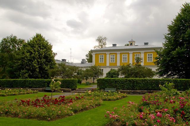 Garden of Törnävä manor