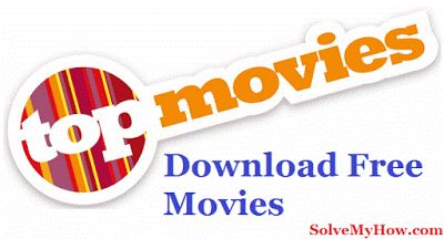 (10+) Free Movie Download Sites To Download Free Movies. So, what are you waiting for. Download your favorite movies now !  http://www.solvemyhow.com/2016/02/10-free-movie-download-sites-to-download-free-movies.html
