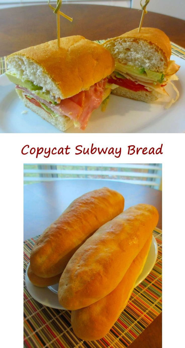 how to make subway bread