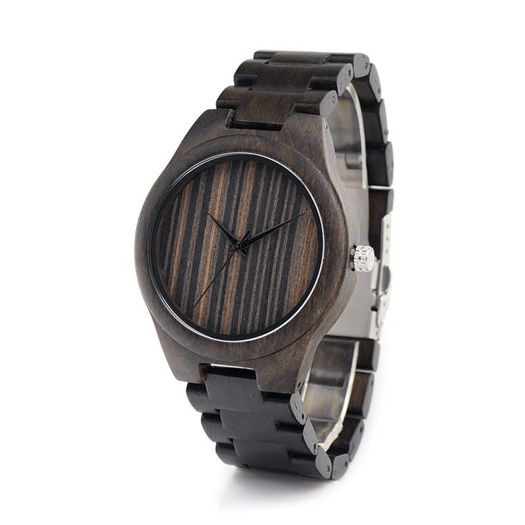 Wooden Band Watches for Men New Wood Wristwatches Japan Movement Quartz Watch Brand as Gifts