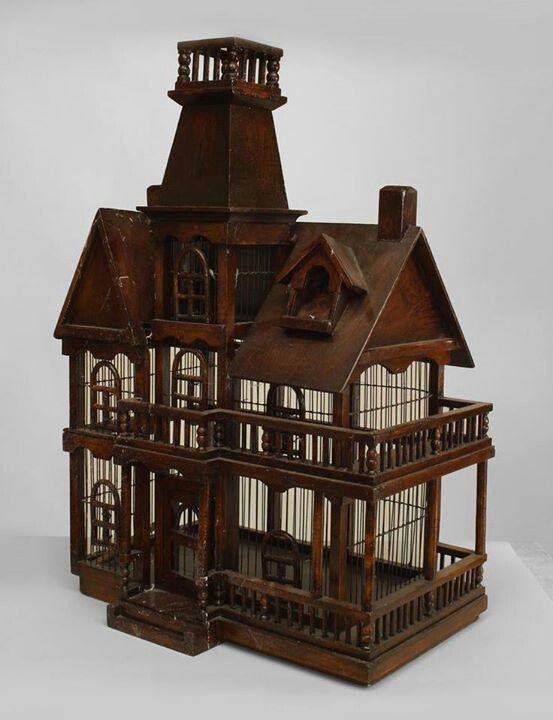 17 best decorative antique bird cages images on pinterest for Bird house styles