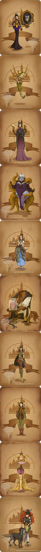 Steampunk Disney, love this series