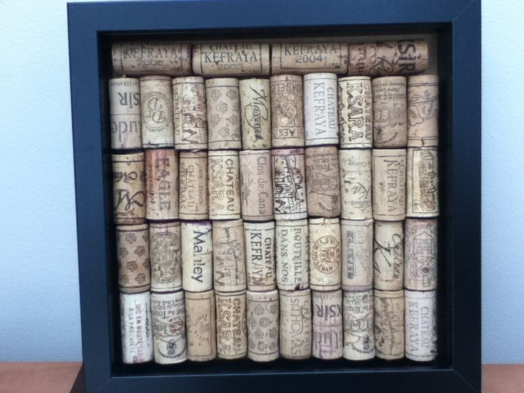 At last got my (mostly) Lebanese wine bottle corks mounted. Will buy some hooks so I can hang my necklaces on it