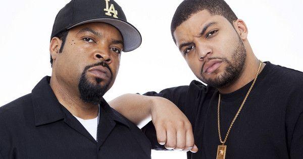 Ice Cube & son O'Shea Jackson