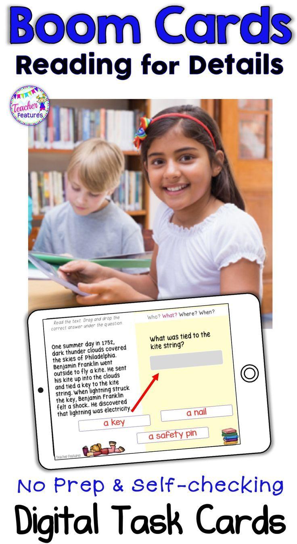 Digital Boom Cards Reading Passages Nonfiction Teacher Features Reading Comprehension Passages Reading Comprehension [ 1351 x 736 Pixel ]