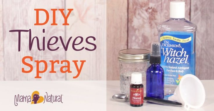 Learn how to make Thieves spray in this easy recipe. Kill germs and bacteria and boost your immune system naturally.