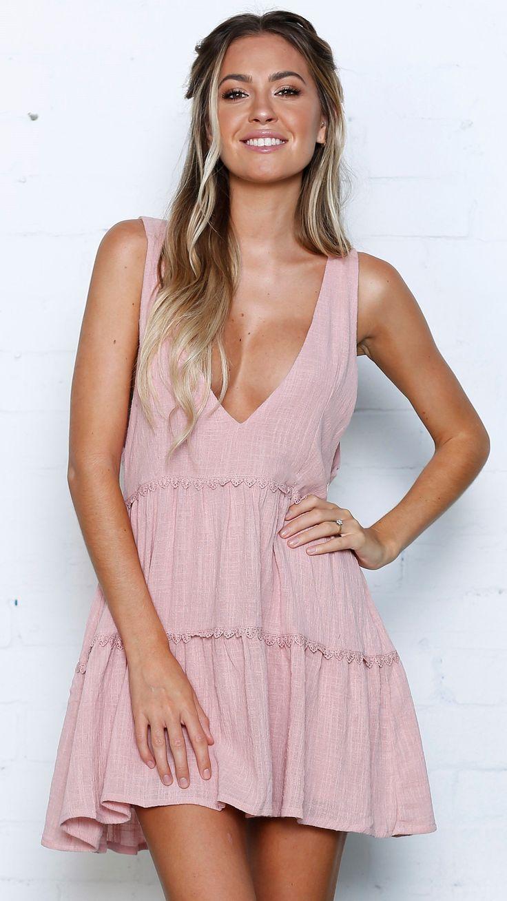 Girl & the Sun - Oceana Mini Dress - Blush