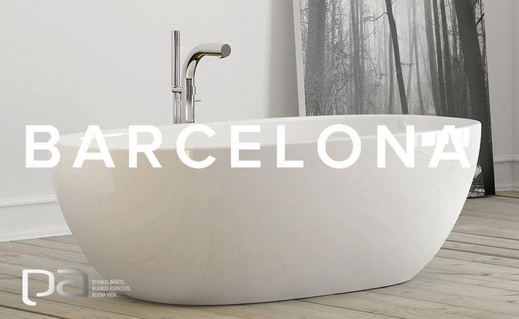 ¡Inspiración!  La colección Barcelona de Victoria Albert tiene un diseño profundo y curvilíneo. Sus dimensiones generosas y respaldos ergonómicos hacen que esta bañera se convierta en un deseo.  Victoria Albert exclusivo en Productos Arquitectónicos