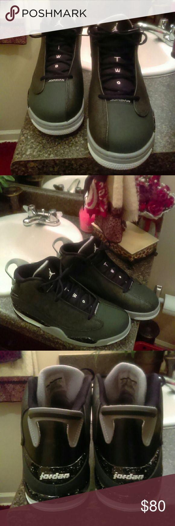 Retro Jordans dub zero charcoal gray With a air bubble retro Jordans Shoes Athletic Shoes